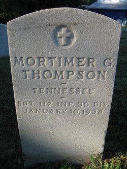 Mortimer Grinnell Thompson Sr.