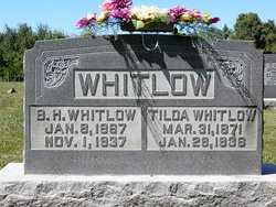 """Matilda Jane """"Tilda"""" <I>Akridge</I> Whitlow"""