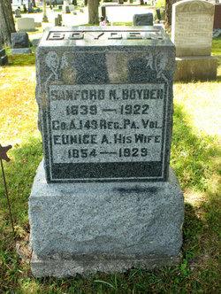 Corp Sanford Nathaniel Boyden
