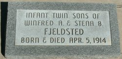 Infant Twin <I>Sons</I> Fjeldsted