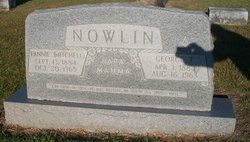 Fannie <I>Mitchell</I> Nowlin