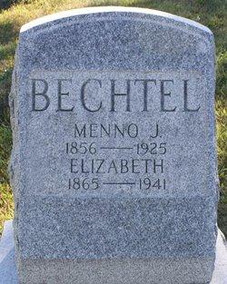 Elizabeth <I>Metzler</I> Bechtel