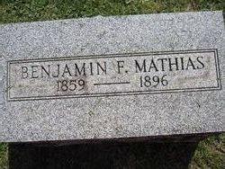 Benjamin F Mathias