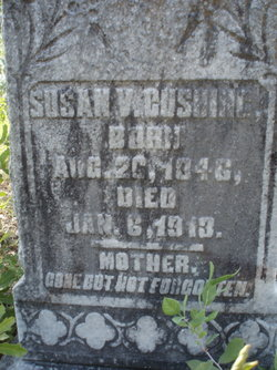 Susan V <I>Anderson</I> Cushing