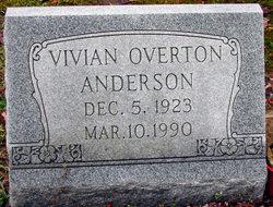 Hazel Vivian <I>Overton</I> Anderson