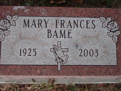 Mary Frances Bame