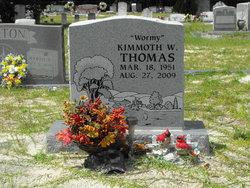 """Kimmoth W. """"Wormy"""" Thomas"""