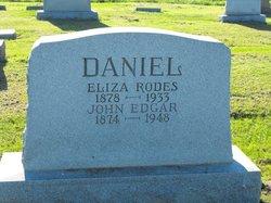 Eliza <I>Rodes</I> Daniel