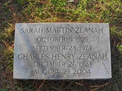 "Charles Henry ""Charley"" Zeanah"