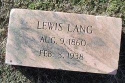 Lewis Lang