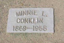 Minnie L. <I>Dunlap</I> Conklin