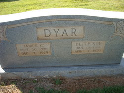 Betty Sue <I>Hayes</I> Dyar