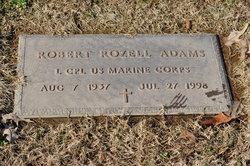 LCpl Robert Rozell Adams