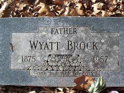 Wyatt Brock
