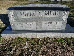 Pearl Pauline <I>Stone</I> Abercrombie