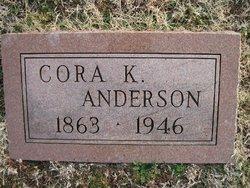 Cora <I>Knepper</I> Anderson