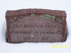 Sgt Mervin H. Paige