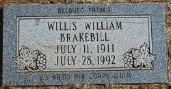 Willis William Brakebill