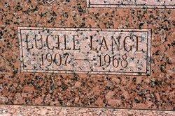 Lucile <I>Lange</I> Dufner