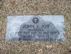 John Lester Joy