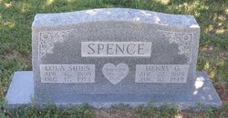 Henry George Spence, Sr