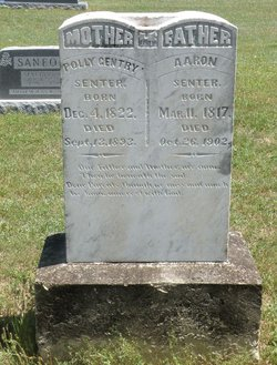 "Mary ""Polly"" <I>Gentry</I> Senter"