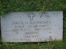 Virgil D Slothower