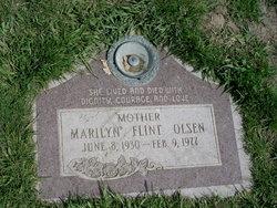 Marilyn <I>Flint</I> Olsen