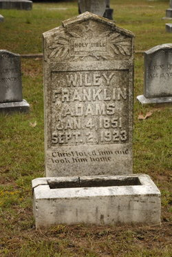Wiley Franklin Adams