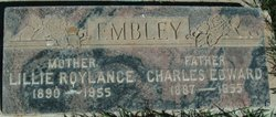 Lillie Roylance Embley