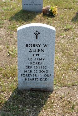 Bobby W Allen