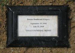 Bonnie <I>Bondurant</I> Kingery