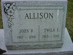 Twila Elizabeth <I>Sutter</I> Allison