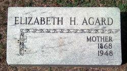 """Elizabeth """"Libby"""" <I>Heym</I> Agard"""