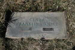 "Clara Josepha Olivia ""Emmy"" <I>Anderson</I> Tooke"
