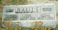 Susanna <I>Baker</I> Bault
