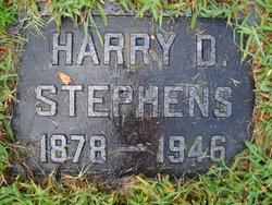 Harry D Stephens