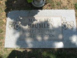 Mary Lou <I>Johnson</I> Brumley