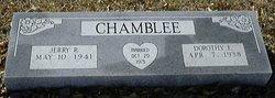 """Dorothy Elizabeth """"Dot"""" <I>Falkner</I> Chamblee"""
