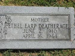 Clara Ethel <I>Earp</I> Deatherage