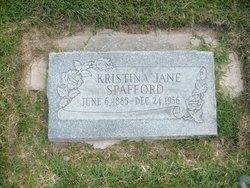 Kristina Jane <I>Andrews</I> Spafford