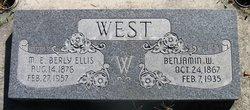 Martha Elizabeth Berly <I>Ellis</I> West
