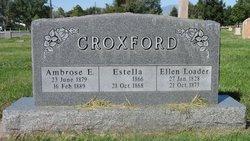 Ellen <I>Loader</I> Croxford