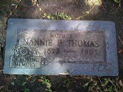 Nannie Bell <I>Montgomery</I> Thomas