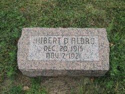 Hubert Donald Albro