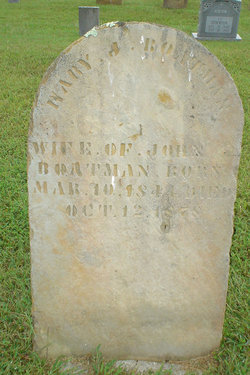 Mary Jane <I>Stockton</I> Boatman