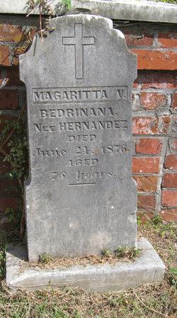 Margaritta V <I>Hernandez</I> Bedrinanna