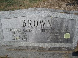 Theodore <I>Gates</I> Brown