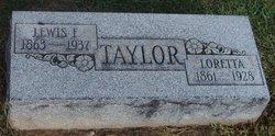 Loretta <I>Barton</I> Taylor
