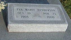 Eva Marie <I>Plummer</I> Henderson